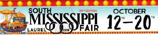 Click here to view the 2018 South MS Fair schedule!